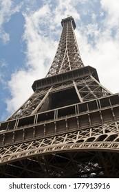 Bright summer day in Paris