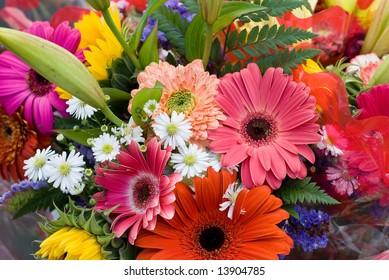 Bright Summer Flower Bouquet