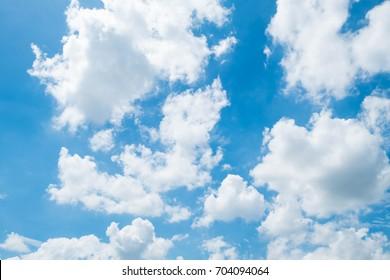 Bright summer sky backdrop