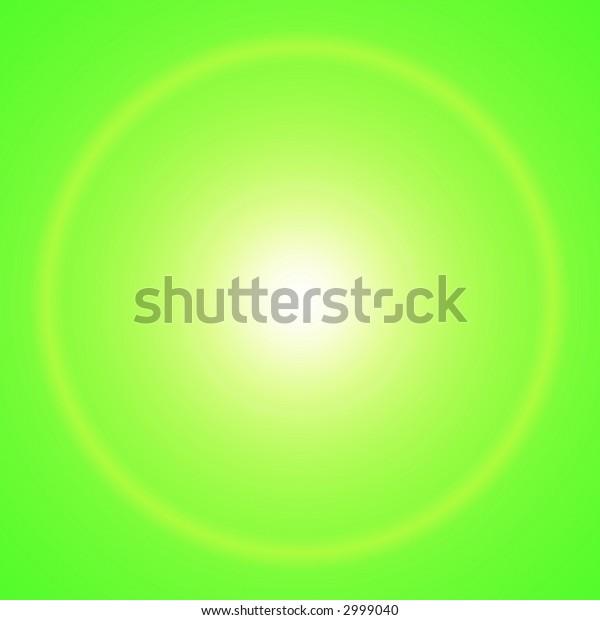 Bright sun/ star with halo