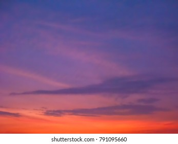 Bright sunset background