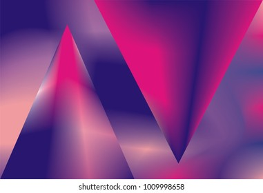 Bright ultraviolet background. Horizontal, rectangular backdrop for abstract futuristic wallpapers, cards, posters, web banners. Trendy uv colors