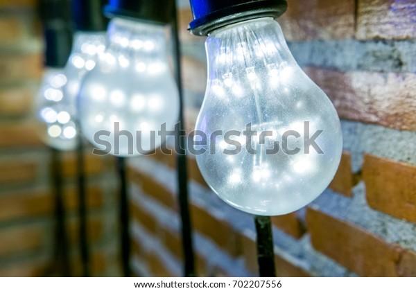 Bright white light bulb