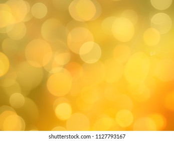 bright yellow blurred lights glowing celebration background