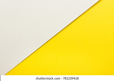Bright and yellow color paper texture background. Trend colors, geometric paper background. Colorful of soft paper background.