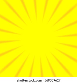 Bright yellow square sunny positive frame image background