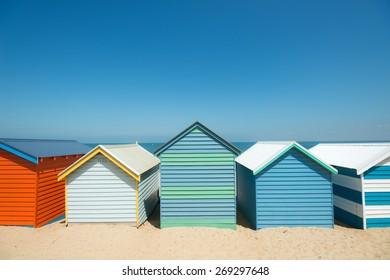 Brighton Beach Boxes in Melbourne, Australia