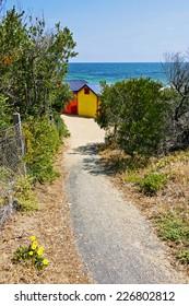 Brighton beach cabin