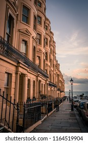 Brighton, early January. A crisp evening walk through Hove.