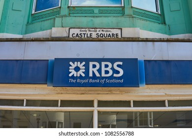 Brighton, East Sussex, England May 3rd 2018 Royal Bank of Scotland, Castle square branch, Brighton UK