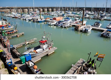 BRIGHTON, ENGLAND - MAY 16 : View of Brighton Marina, England on May 16, 2015