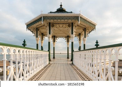 Brighton and Hove, bandstand on the seafront