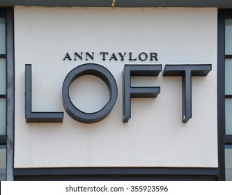 BRIGHTON, MI - AUGUST 22: Ann Taylor Loft, whose Brighton, MI store logo is shown August 22, 2015, has over 650 stores.