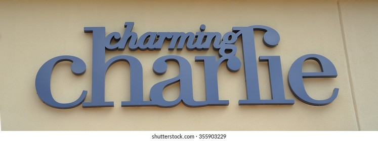 BRIGHTON, MI - AUGUST 22: Charming Charlie, whose Brighton, MI store logo is shown August 22, 2015, has stores in over 40 states.
