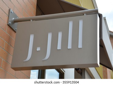 BRIGHTON, MI - AUGUST 22: J. Jill, whose Brighton, MI store logo is shown August 22, 2015, has over 250 stores.