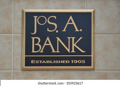 BRIGHTON, MI - AUGUST 22: Jos. A. Bank, whose Brighton, MI store logo is shown August 22, 2015, has over 600 stores.