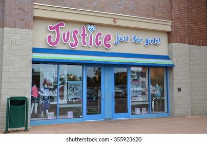 BRIGHTON, MI - AUGUST 22: Justice, whose Brighton, MI store is shown August 22, 2015, has over 900 stores.