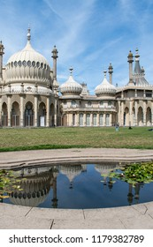 Brighton Pavilion on a summers day, Sussex, England
