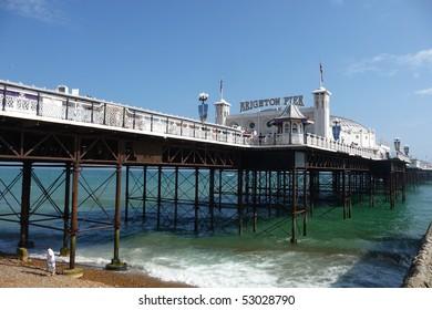 Brighton Pier in Brighton.