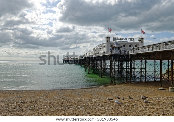 Brighton Pier, Brighton, Sussex, Britain