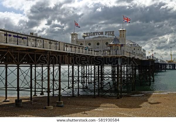 Brighton Pier, Brighton, Sussex, Britain