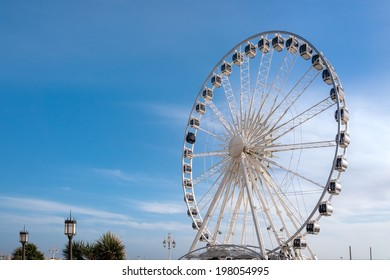 BRIGHTON, SUSSEX/UK - JANUARY 27 : Ferris Wheel in Brighton on january 27, 2013