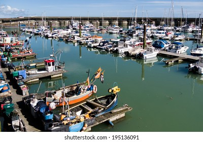 BRIGHTON, SUSSEX/UK - MAY 24 : View of Brighton Marina in Brighton on May 24, 2014