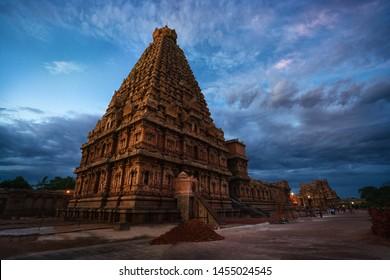 Brihadeeswara Temple or Big Temple in Thanjavur, Tamil Nadu - South India