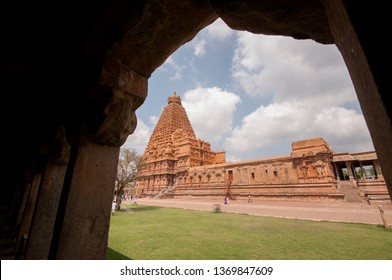 Brihadeeswara Temple or Big Temple in Thanjavur, UNESCO World Heritage Site, Tamil Nadu, India.