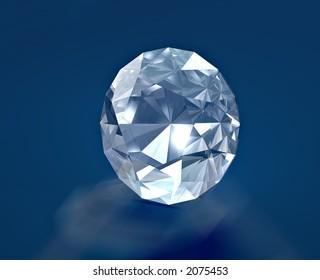 A brilliant diamond