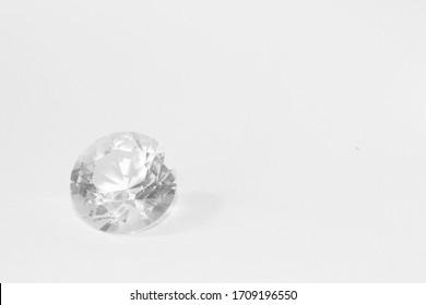 Brilliant diamonds. Precious and luxury gem for jewelry. Beautiful background.