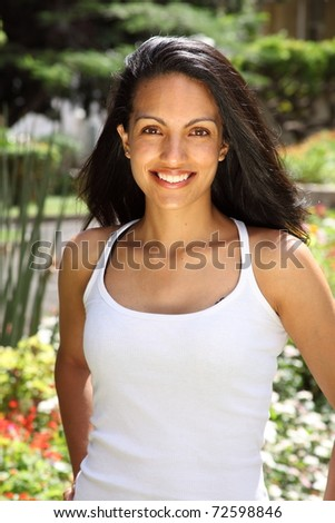 4a2b2a3955 Brilliant Smile Stunning Young Beauty Garden Stock Photo (Edit Now ...