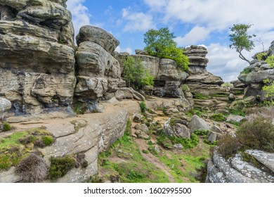 Brimham Rocks in North Yorkshire