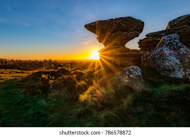 Brimham Rocks Sunrise
