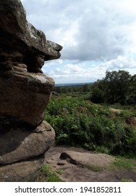 Brimham Rocks in the Yorkshire Dales