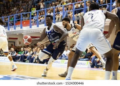 Brindisi, Italy, October 05 2019 ball per a. abass , germani basket brescia,  during Happy Casa Brindisi Vs Germani Basket Brescia  Italian Basketball A Serie  Championship