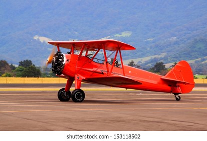 Bringing back old times - biplane