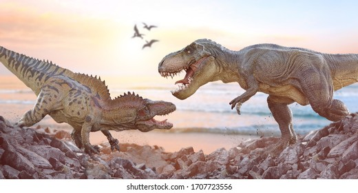 Bringing jurassic back to life, with the help of toys