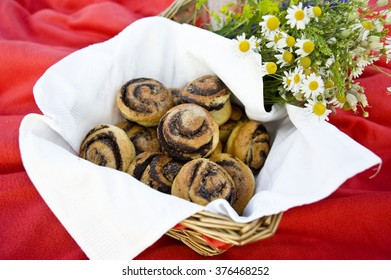 Brioche bun with chocolate