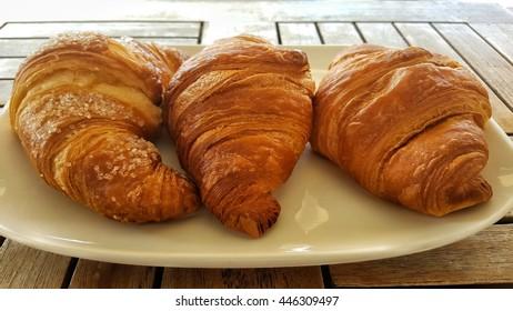 Brioches, italian breakfast