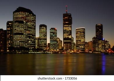 Brisbane City After Dark