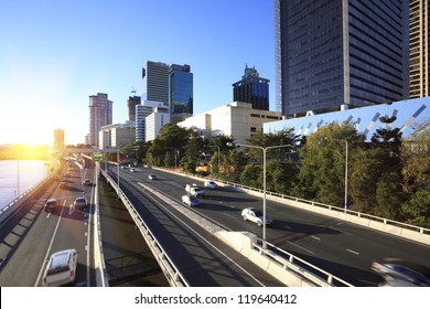 Brisbane city street
