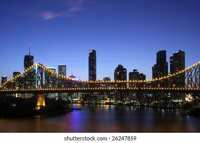 Brisbane Night Australia