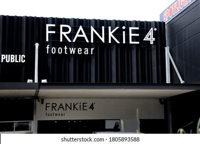 Brisbane, Queensland / Australia 08 28 2020: The Frankie Footwear retail store in Brisbane