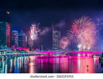 Brisbane Riverfire festival 2017