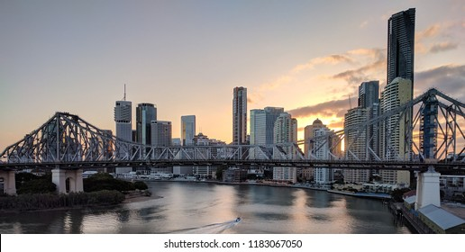 Brisbane Skyline and Bridge