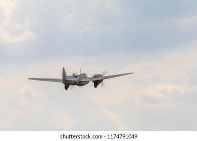 Bristol Blenheim takes into the sky