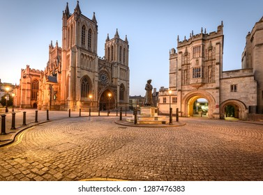 Bristol cathedral and central library are two of the famous building in Bristol, UK.