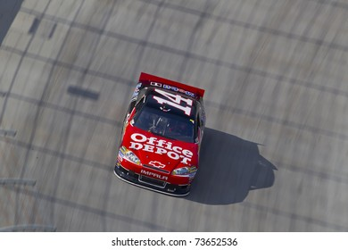 BRISTOL, TN - MAR 20:  Tony Stewart (14) takes to the track for the running of the Jeff Byrd 500 race at the Bristol Motor Speedway on March 20, 2011 in Bristol, TN.
