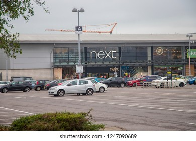 Bristol, UK. 09-06-2018: Next department store on the Imperial Park Shopping Complex , Bristol